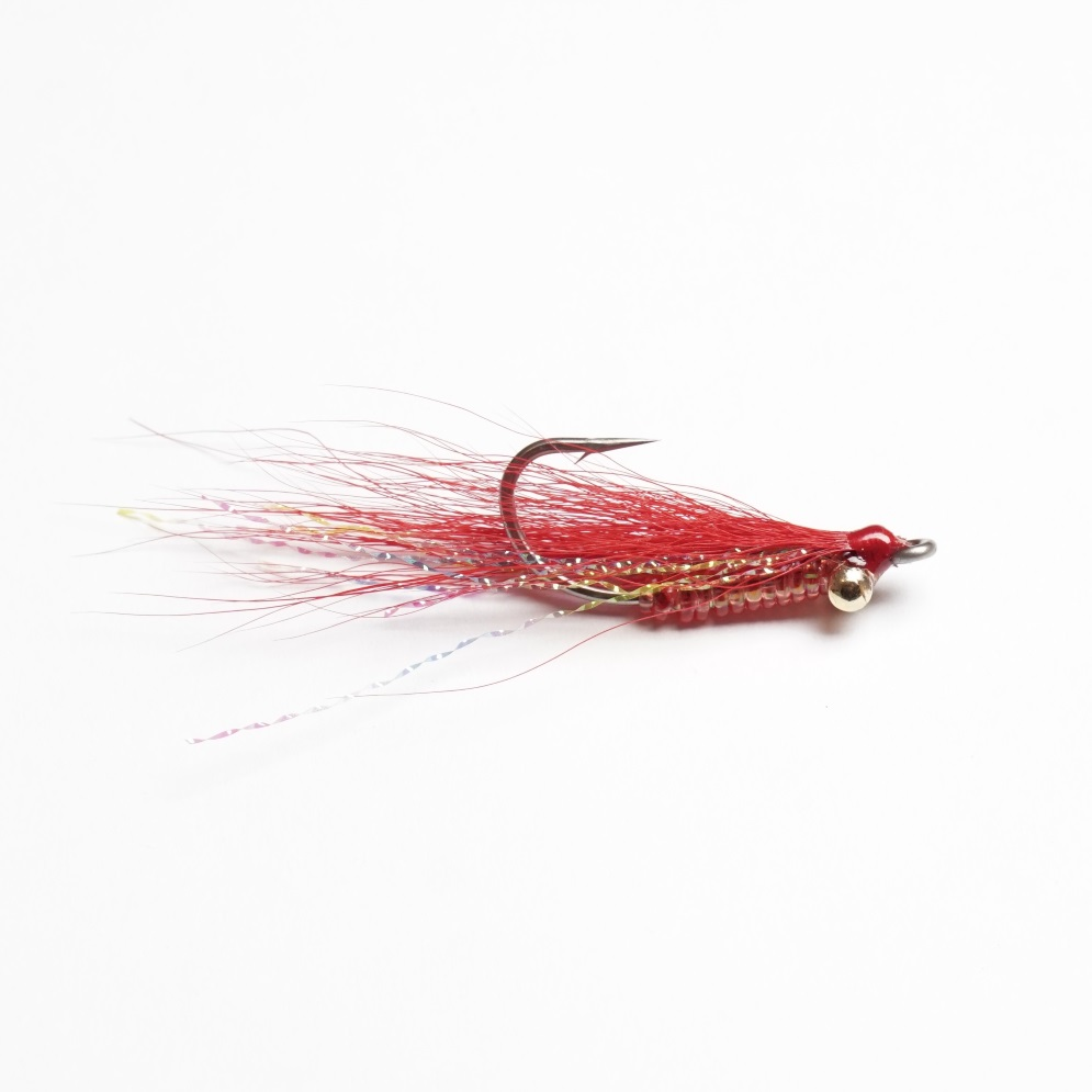 Saltwater Fly Crazy Charlie 01 Red