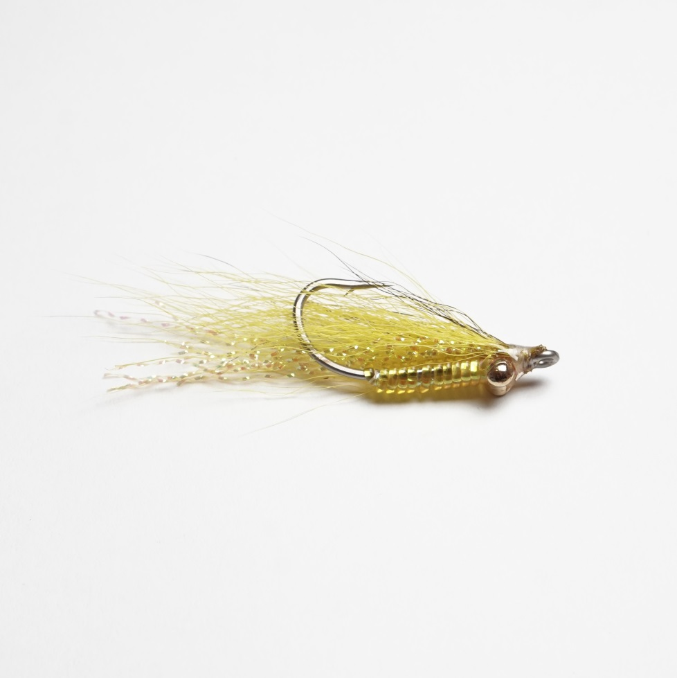 Saltwater Fly Crazy Charlie 02 Yellow